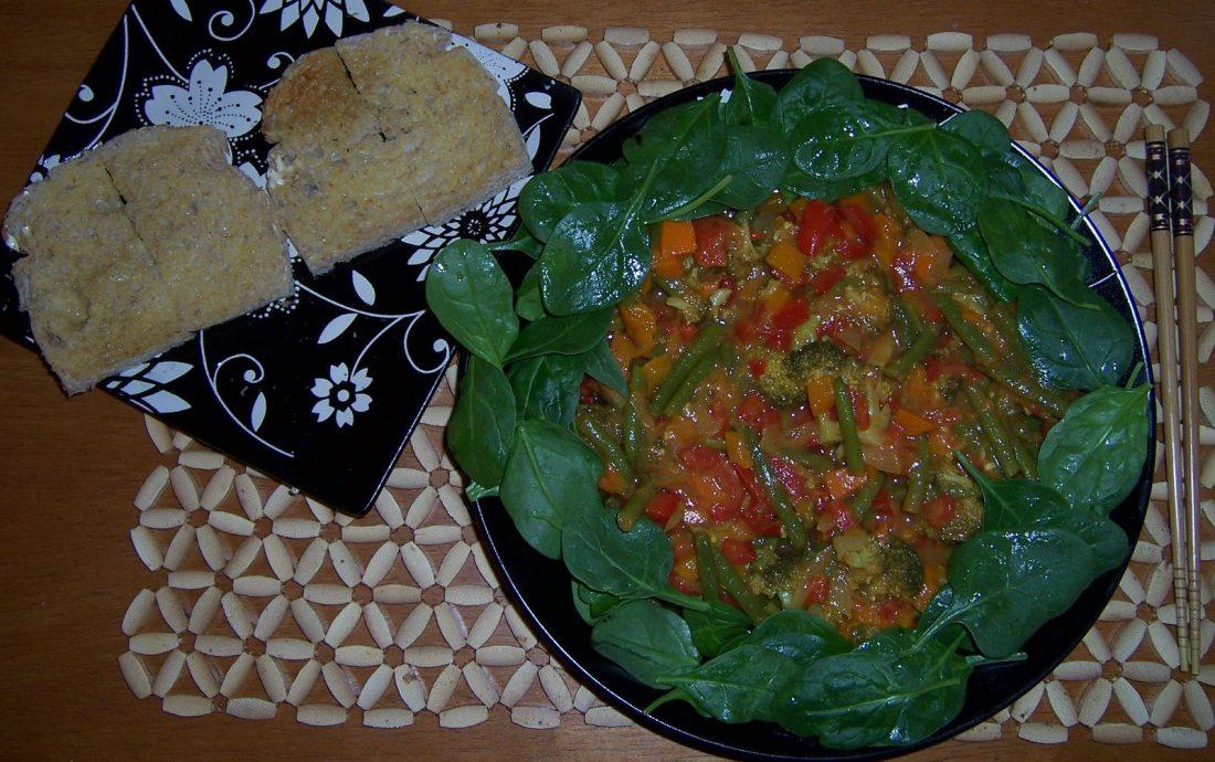 fall vegan curry