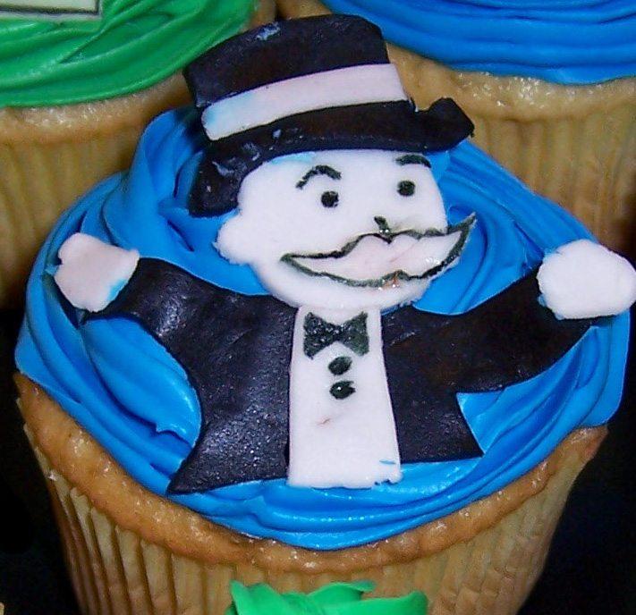 monopoly cupcake