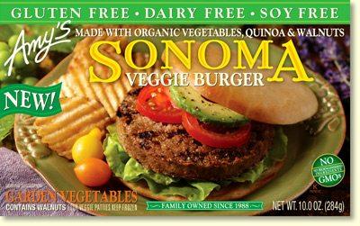 amy's sonoma burgers