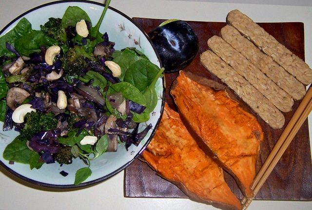 stir fry salad