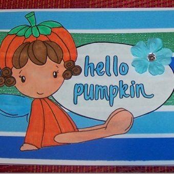 Pretty Pumpkin Head