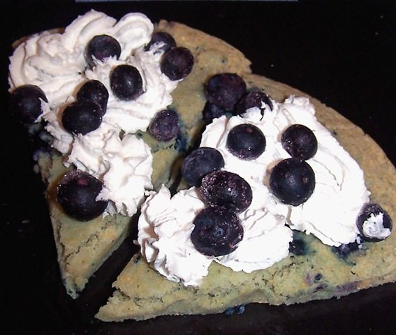 blueberry pizzert