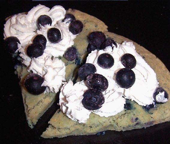 blueberry pizzert