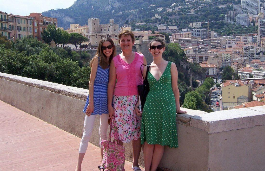 Monaco castle