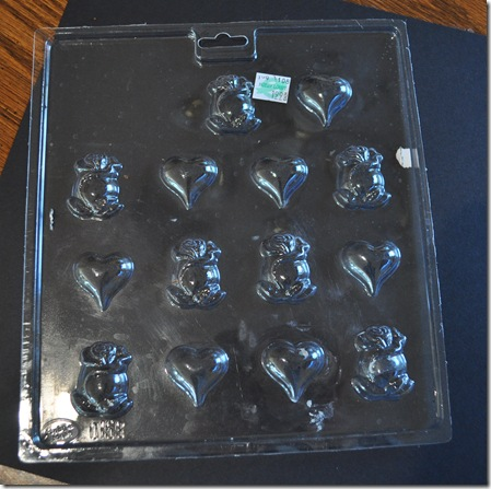 flowers candy mold