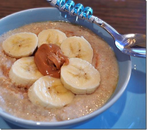 blended oatmeal