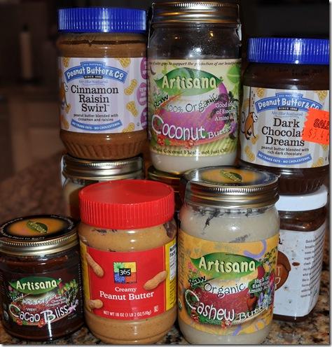 peanut butter flavors