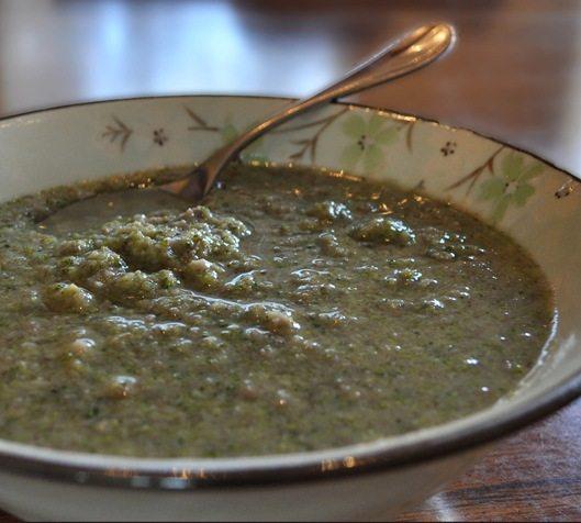 vegan broccoli soup