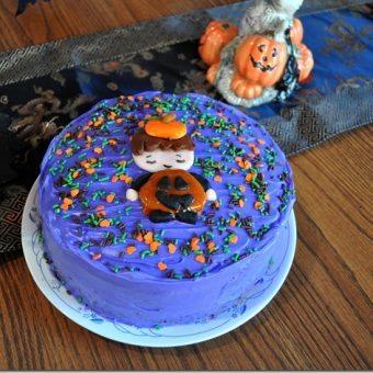Spooky Vegan CarrotCake