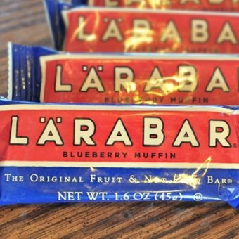 New Flavor: Blueberry Muffin Larabars