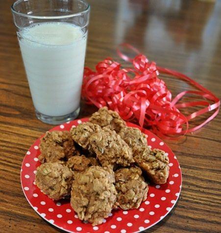 oatmeal crinkle cookies