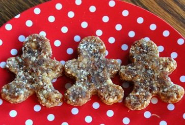 raw gingerbread men