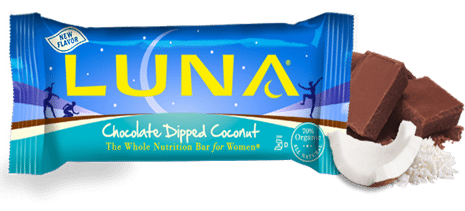 chocolate coconut luna bar