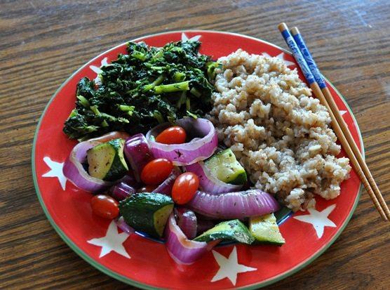 grilled vegetables vegan