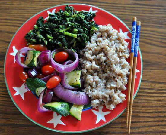 grilled veggies vegan