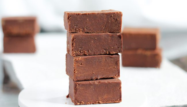 sugar free chocolate fudge recipe