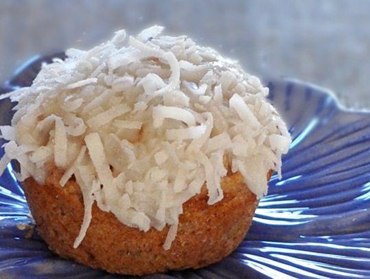 vegan coconut cupcake 2