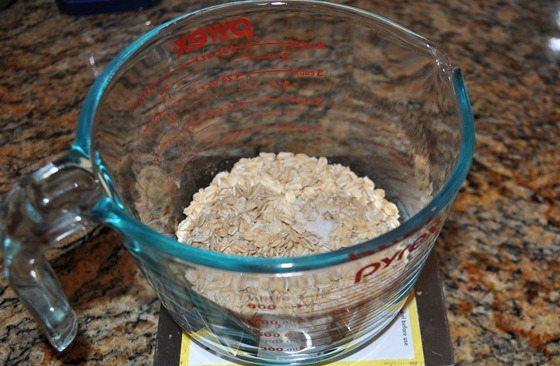 voluminous oatmeal trick