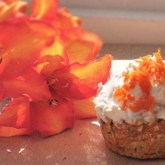 Single-Lady Carrot Cake Cupcake