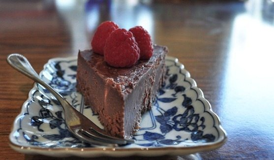 vegan fudge cake