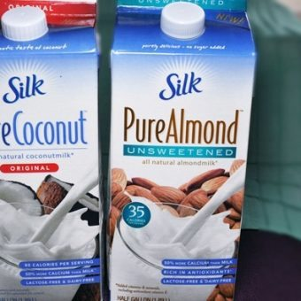 A New Unsweetened Almond Milk