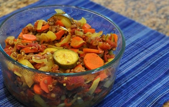 vegan curried lentils
