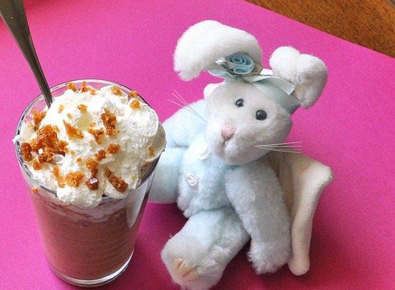 carrot bunny shake