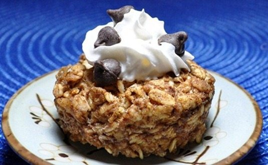chocolate chip baked oatmeal_thumb