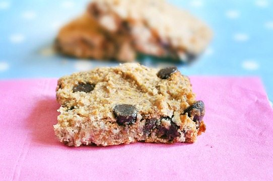healthy blondies