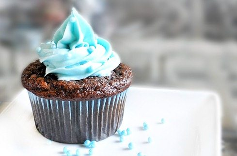 Blue Velvet Cupcakes - No Food Coloring Needed!