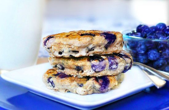 Blueberry Pie Pancakes Recipe