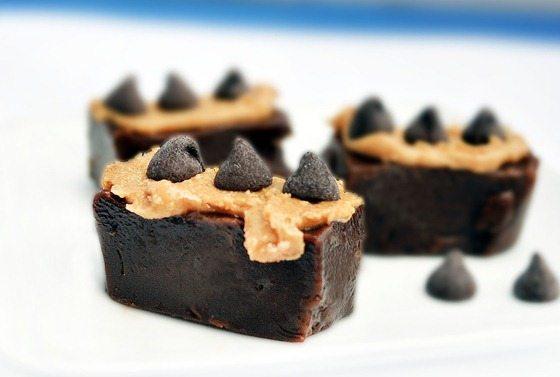 Healthy Chocolate Peanut Butter Fudge