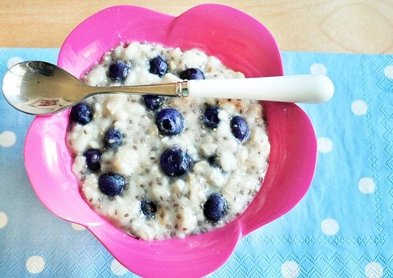 giant bowl of oatmeal