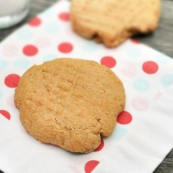 Single-Serving Peanut Butter Cookies