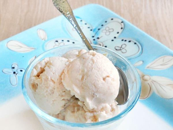 sorvete de manteiga de amendoim com baixas calorias