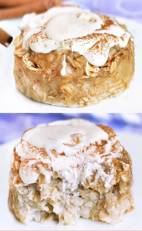 Easy Cinnamon Roll Baked Oatmeal Recipe