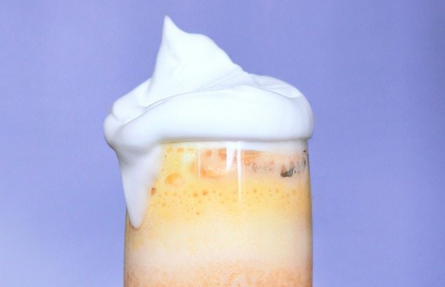 candy corn smoothie