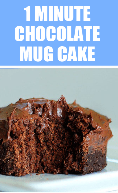 "One Minute"" Chocolate Cake - This is my go-to recipe, from @ ..."