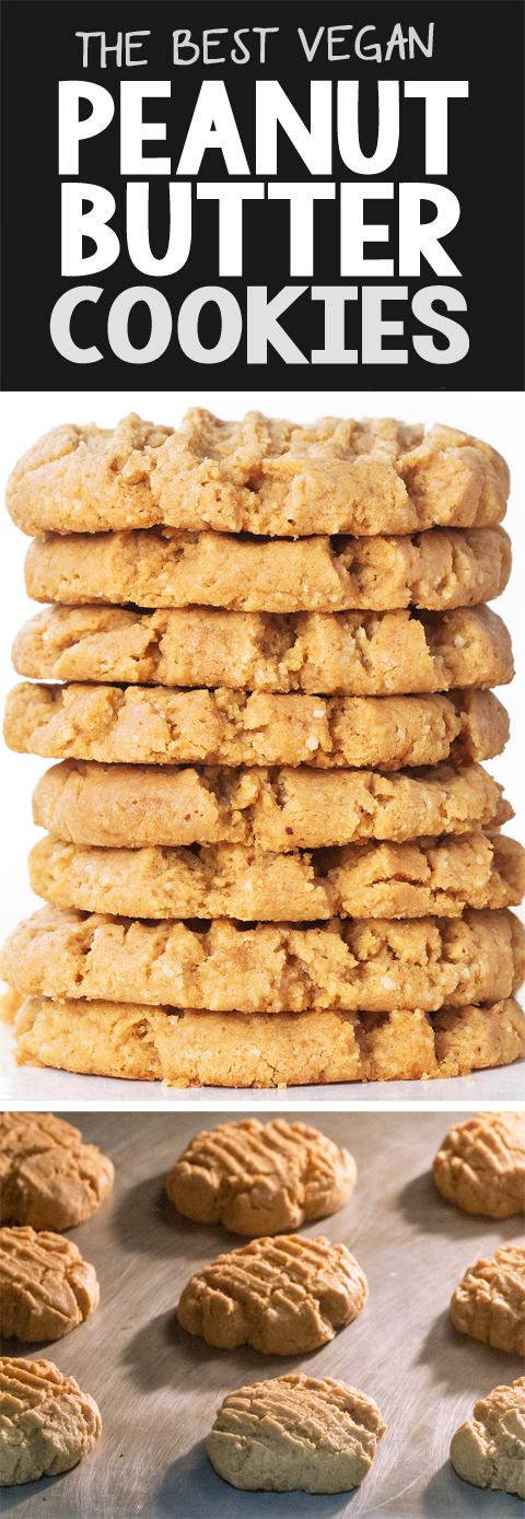 The Best Vegan Peanut Butter Cookies Recipe