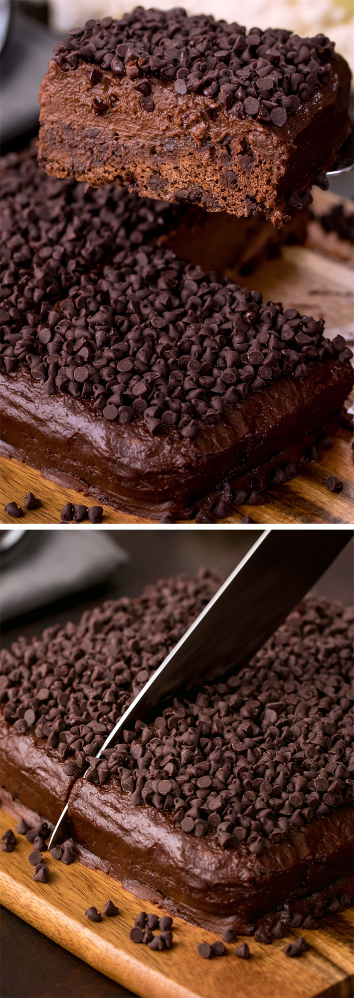 The famous chocolate cake that is secretly GOOD for you, but no one can ever tell!