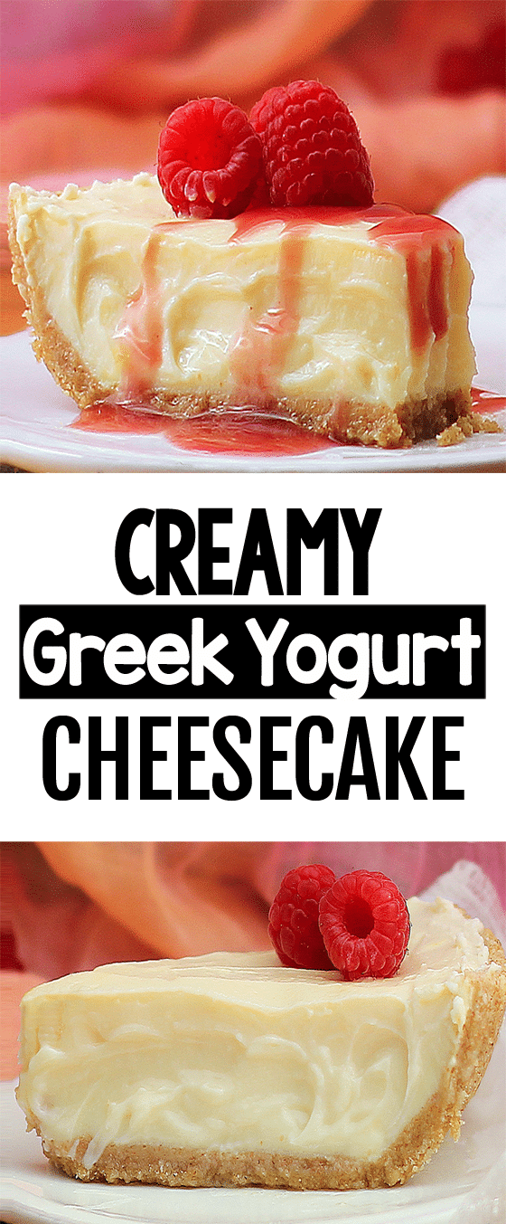 Creamy Healthy Greek Yogurt Cheesecake Recipe