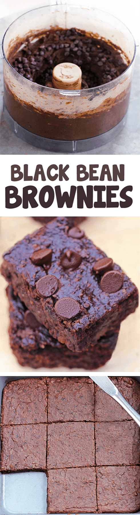 Black Bean Brownies No Flour Required