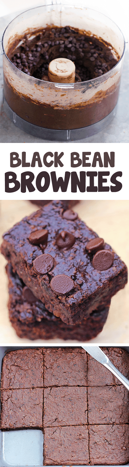 The Best Black Bean Brownies Recipe