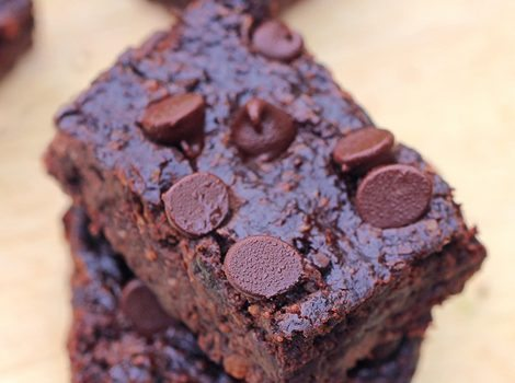 The famous chocolate fudge black bean brownies recipe from @choccoveredkt... (500k + repins) https://chocolatecoveredkatie.com/2012/09/06/no-flour-black-bean-brownies/