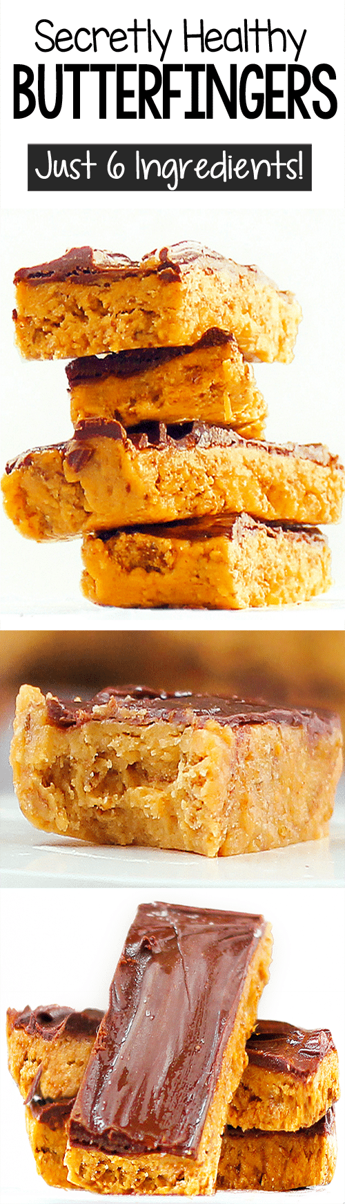 Secret Healthy Chocolate Butterfinger Candy Bar Recipe