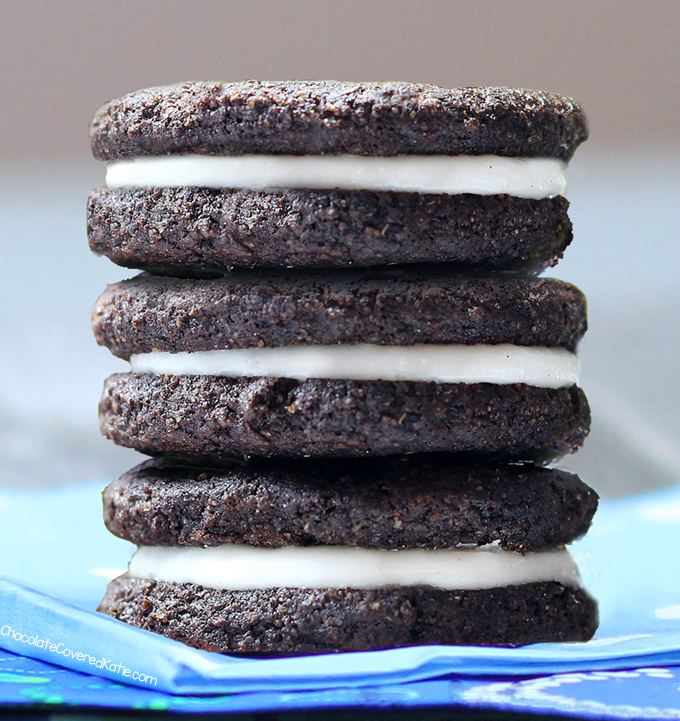 70 Low Calorie Recipes For High Stress Days: Healthy Oreos