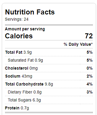 Healthier Oreos Calories And Nutrition Information Chocolate