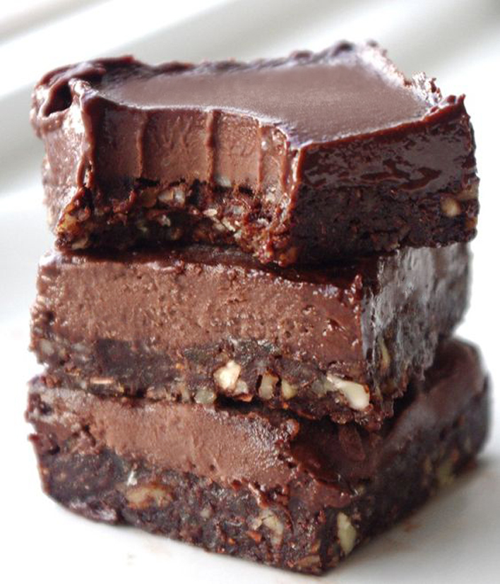 No Bake Chocolate Fudge Bars