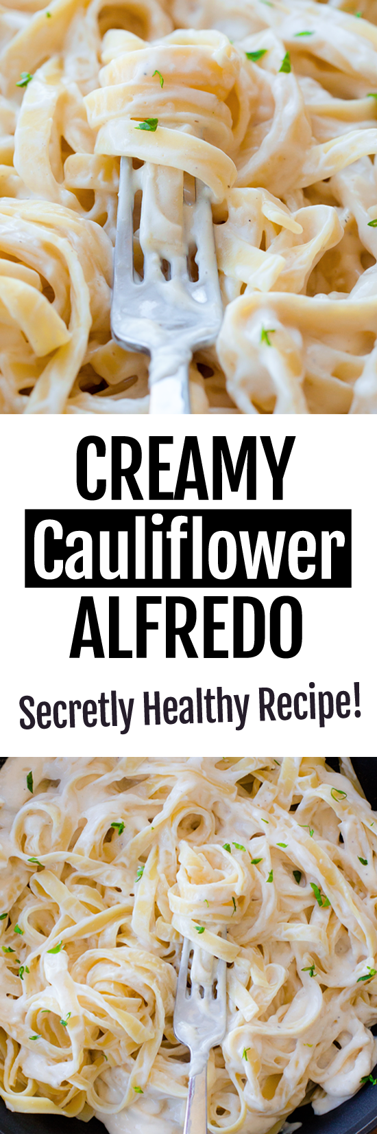 How To Make The Best Healthy Cauliflower Alfredo Recipe (Vegan)
