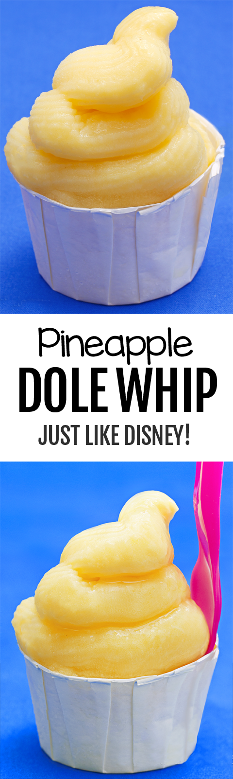 Disney Homemade Dole Whip Recipe Copycat, healthy and vegan